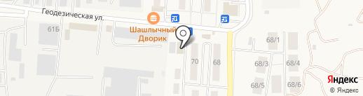 Магазин разливного пива на карте Оби