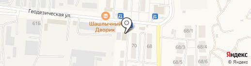 Гермесъ на карте Оби