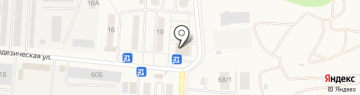 Мария-РА на карте Оби