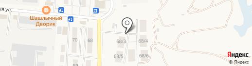 Геодезия на карте Оби