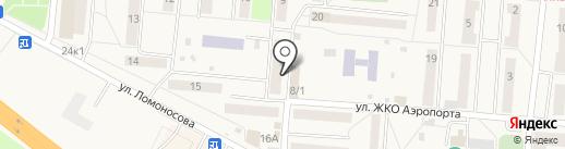 Магазин цветов на карте Оби