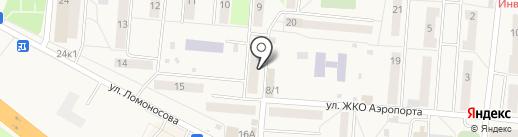 Магазин нижнего белья на карте Оби