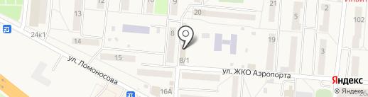 Мегафон ритейл на карте Оби