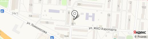МТС на карте Оби