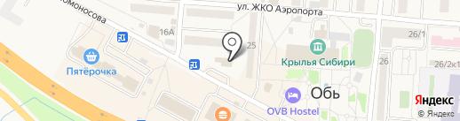 АвтоГород на карте Оби