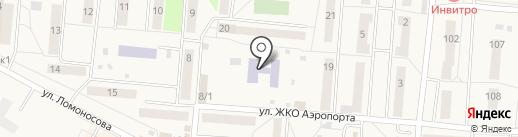 Детский сад №4 на карте Оби