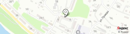 Почтовое отделение №1 на карте Усть-Каменогорска