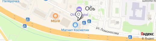РКЦ на карте Оби