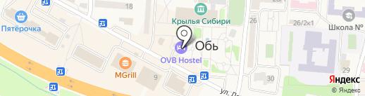 Майя на карте Оби