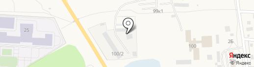 Акварель на карте Оби