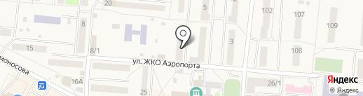 Успех на карте Оби