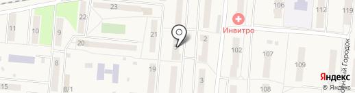 АВТО ОТОГРЕВ-54 на карте Оби