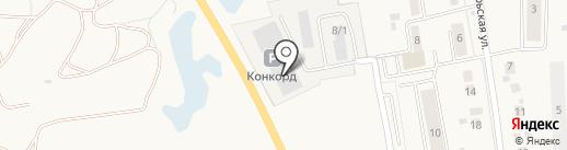 Квант на карте Оби
