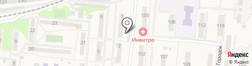 Продуктовый магазин на карте Оби