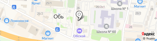 Шамкин и партнеры на карте Оби