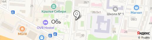 Лик на карте Оби
