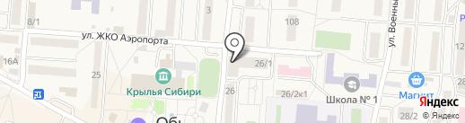 Qiwi на карте Оби