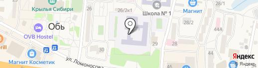 Толмачевская средняя общеобразовательная школа №60 на карте Оби