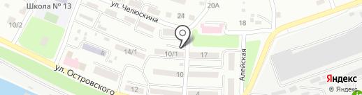 Раимбек на карте Усть-Каменогорска