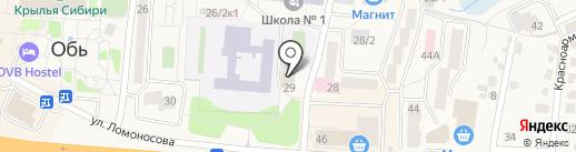 Престиж на карте Оби