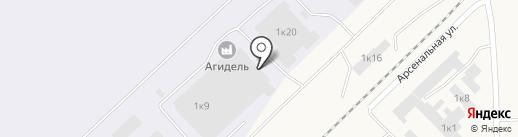 Ретвизан на карте Оби