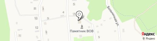 Тулинская сельская библиотека на карте Тулы
