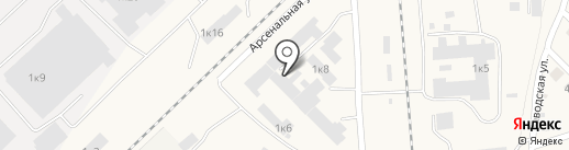 Мраморные архитектурные изделия, ЗАО на карте Оби