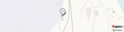 Евробетон на карте Оби