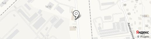 Чкаловский на карте Оби