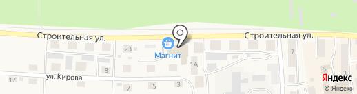 ВОСТОРГ на карте Оби