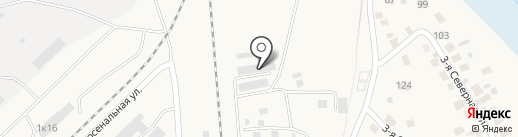 Модуль 54 на карте Оби
