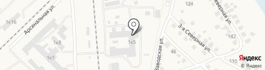 Логистический терминал, ЗАО на карте Оби