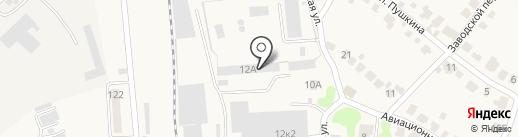 Три Кита на карте Оби