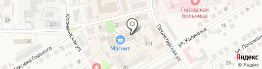 Магазин товаров для рукоделия на карте Оби