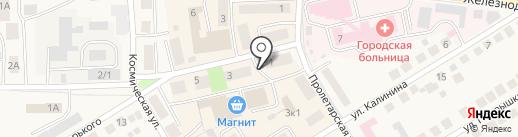 Русский Холодъ на карте Оби