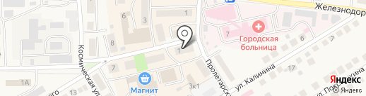 ATM на карте Оби