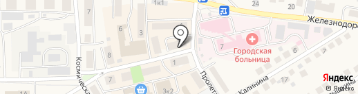 Новосибирскэнергосбыт на карте Оби