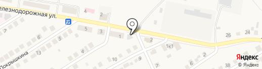 Похоронная служба г. Оби на карте Оби