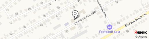 ДИАНА на карте Оби
