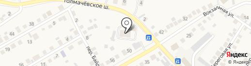 Эдельвейс на карте Оби