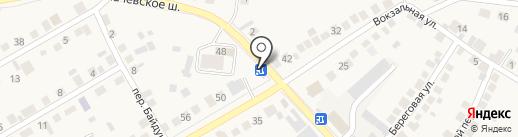 Салон автозапчастей на карте Оби