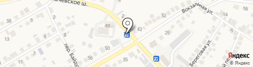 СИБОИЛ на карте Оби