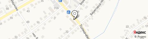 Компания по автострахованию на карте Оби