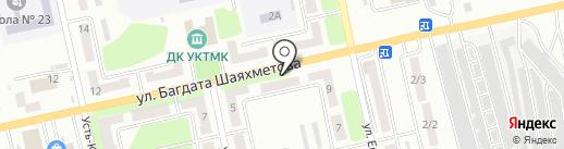 Монтажная компания на карте Усть-Каменогорска
