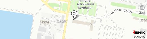 АТФ Банк на карте Усть-Каменогорска