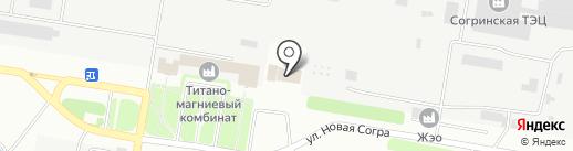 Пожарная часть №10 на карте Усть-Каменогорска