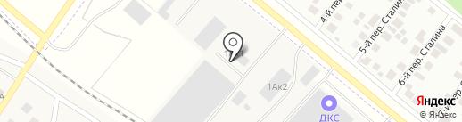 Столплит на карте Марусино