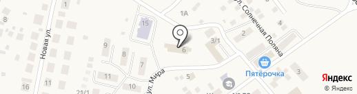 Сельская библиотека на карте Приобского