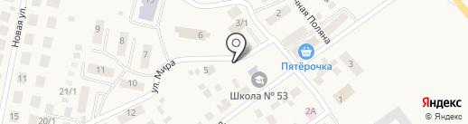 Продуктовый магазин на карте Приобского