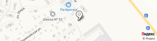 Приобское, ЗАО на карте Приобского